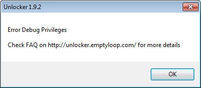 [WTA] Aplikasi Unlocker 1.9.2 Tidak Bisa Dibuka