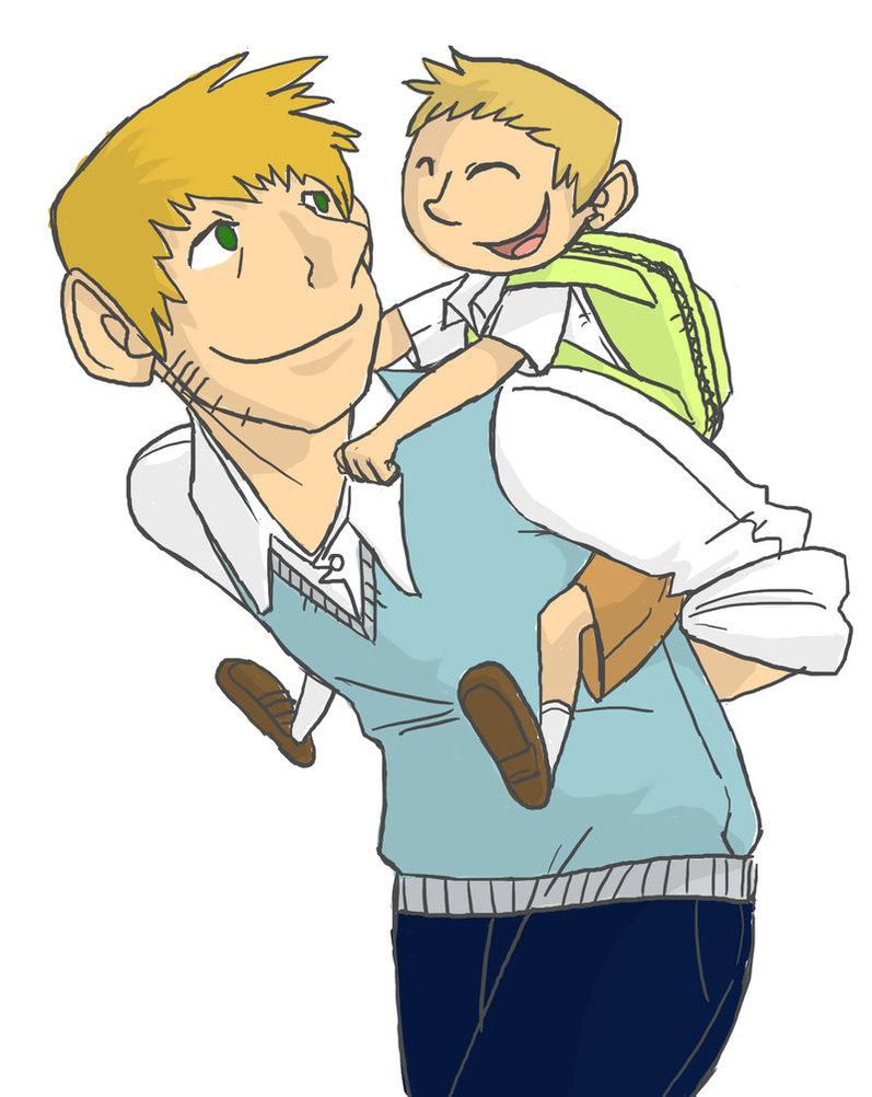 Hubungan Ayah dan Anak Dikemas Dalam Komik Sederhana
