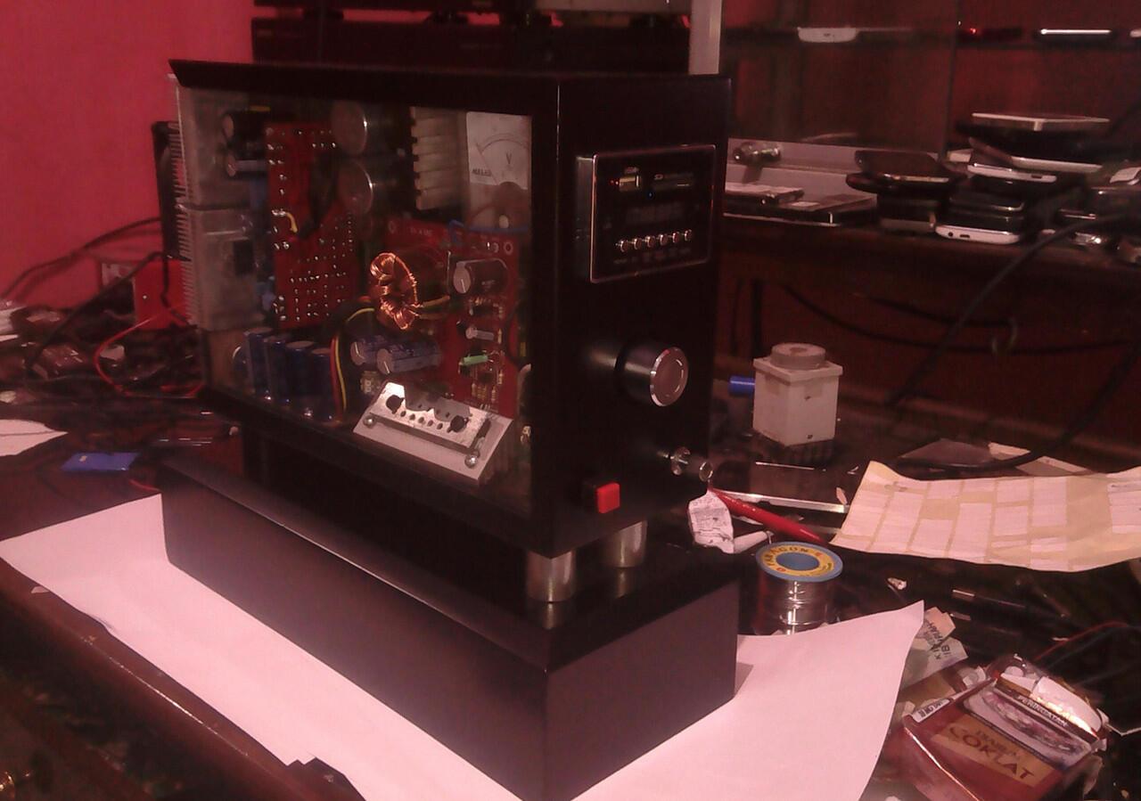 Terjual Parametric Pre Amplifier Machintost Mc9707 Asli Buatan Tone Control Mono Modifikasi Dan Assesoris Bell