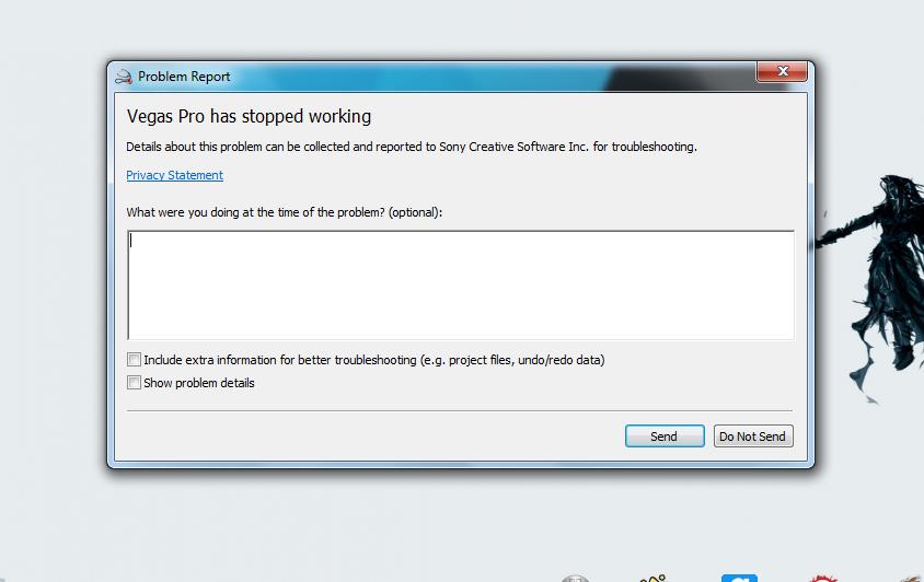 Masalah Sony Vegas 13.0 64 bit