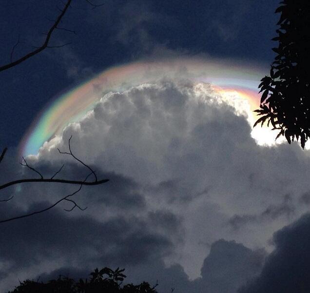 "Penduduk Costa Rica Ketakutan Dgn Munculnya Awan Mengerikan, ""Akhir Dunia"""