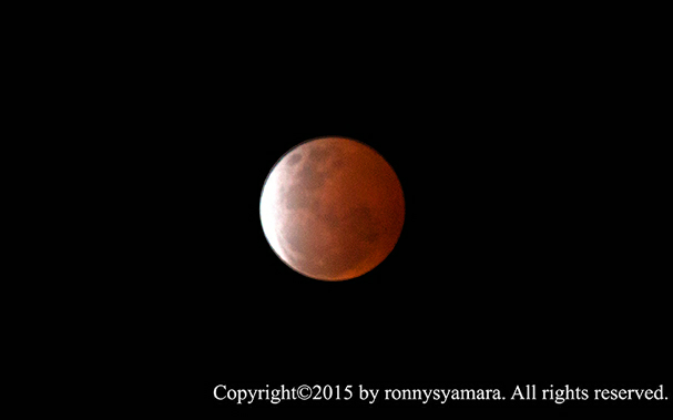 Gerhana Bulan Total 28 September 2015