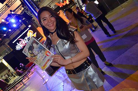 Parade Wanita Cantik Tokyo Game Show 2015! [BB17+]