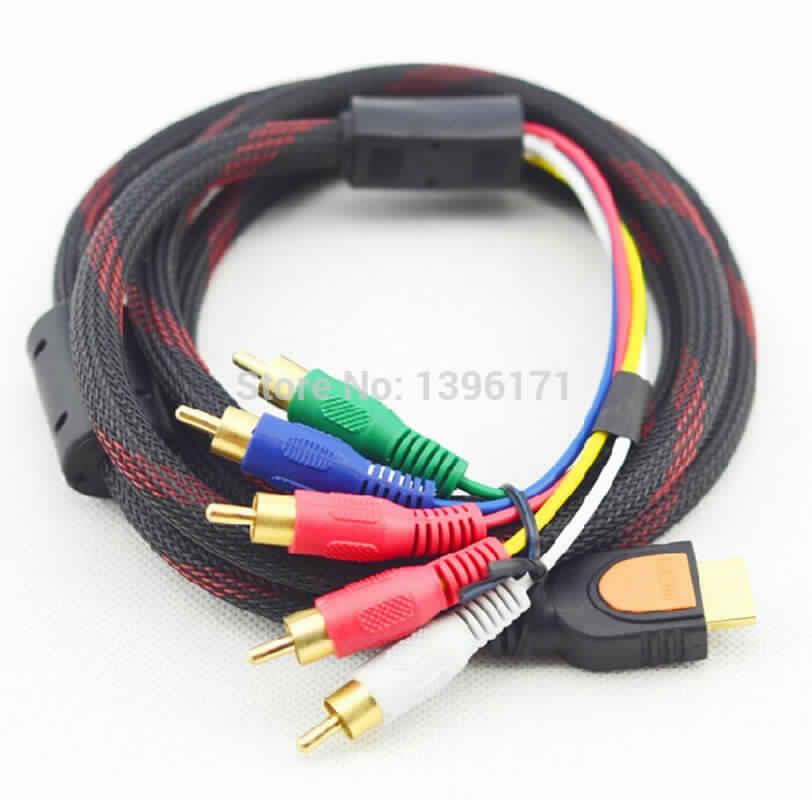 Help! Yang Ngerti Tentang Kabel Component 5 Port