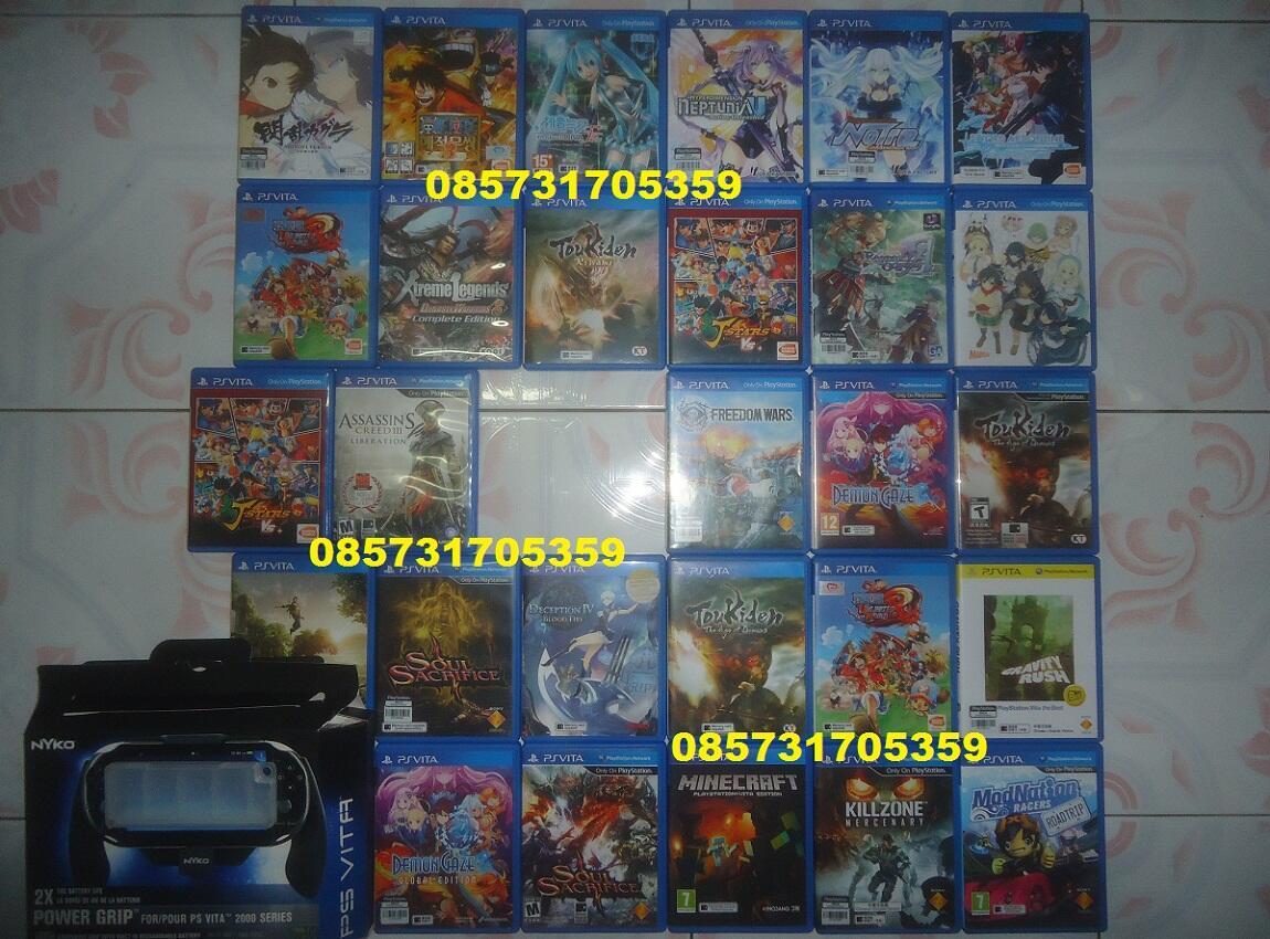 Jual Arena Barter Game Playstation Vita Ori Part 2 Page416 Ps Biru Memory 16gb Full