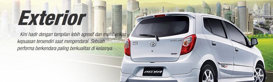 Toyota Agya - TOTALLY I AM