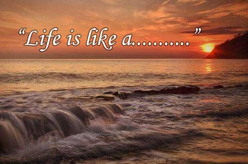 Hidup Itu Ibarat…Mungkin Beberapa Kisah Ini Bisa Menginspirasi Agan Untuk Menjawabnya