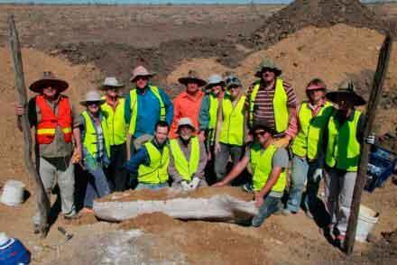 Fosil Dinosaurus Ditemukan di Australia