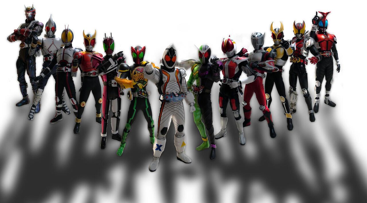 Kamen Rider dengan alur terbaik