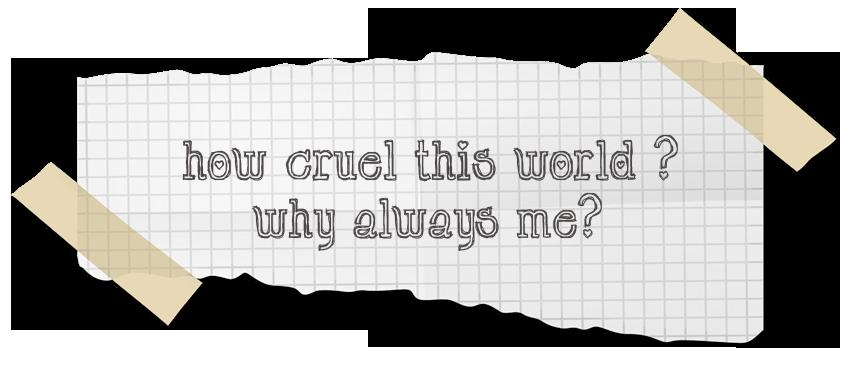 [How Cruel This World ?] Ane punya 2 orang Ibu dan 2 orang Bapak :(