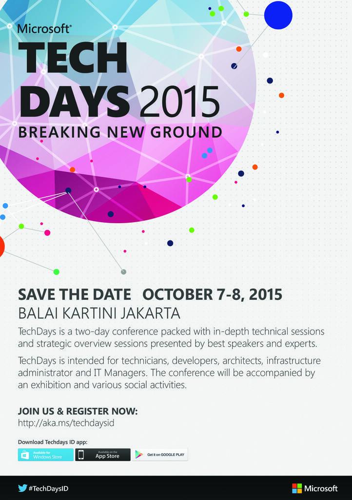 Microsoft Tech Days 2015