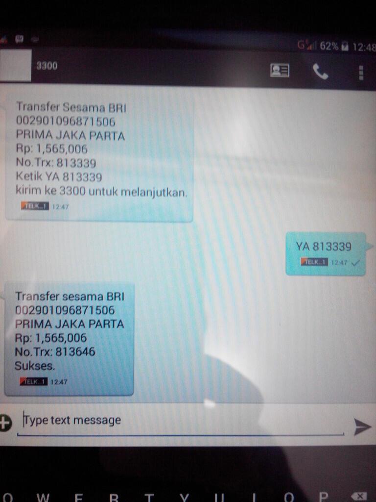 Rekber Indobank Part 4 Page 327 Kaskus Lg G Pro Lite D686 Resmi White Payment Dua Tam