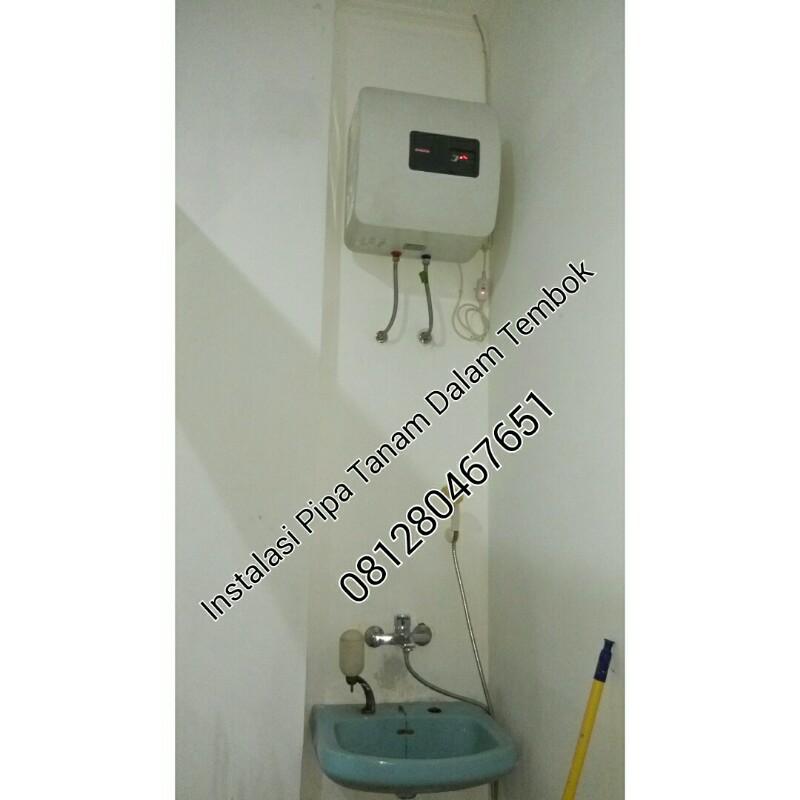 Jual Jasa Pasang Instalasi Mesin Air Panas Water Heater