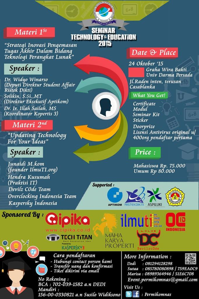 Seminar Nasional Education & Technology