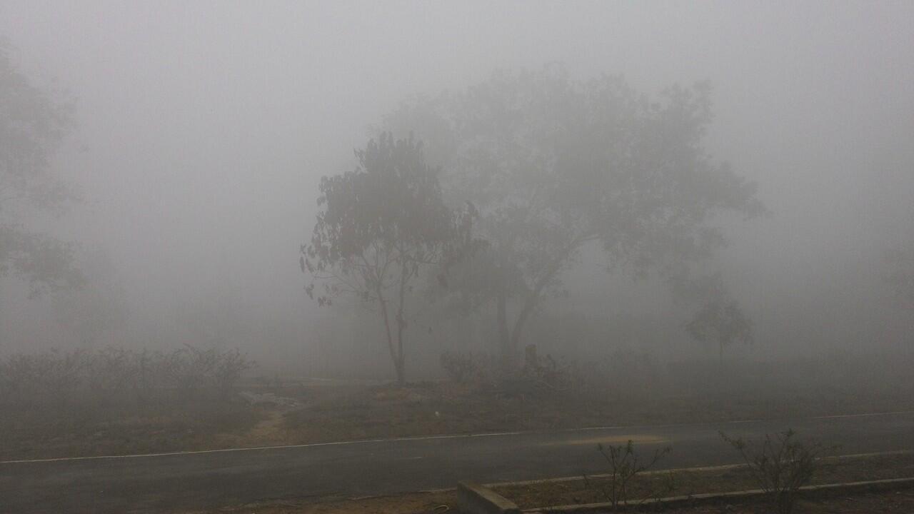 Kabut Asap di Sampit Kslteng pagi ini,17 oktober 2015