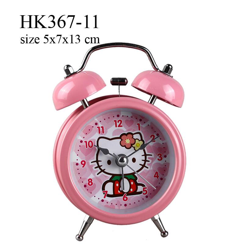 Terjual Jam Weker Meja Dinding Hello Kitty Aneka Bentuk