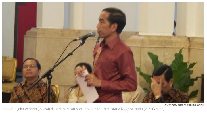 [APA KABAR GLODOK?] Jokowi: Beda 1998, Ekonomi Saat Ini Diacungi Jempol