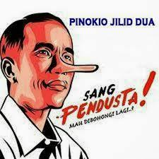(Pendusta Laknat)Kabut Asap di Riau Makin Parah, Jokowi Dianggap Pembohong