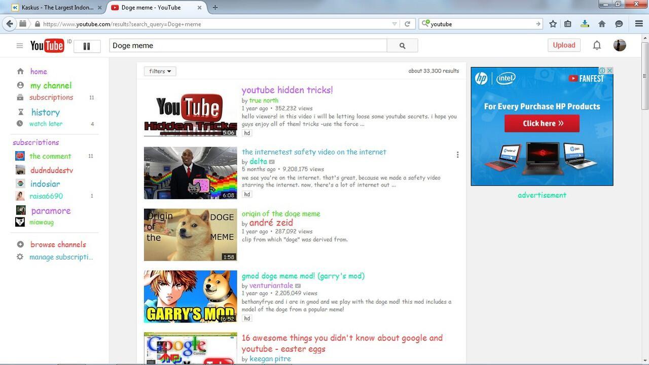4 Keyword Terlarang di Youtube