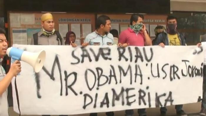 Warga Pekanbaru minta Obama usir Jokowi dari Amerika