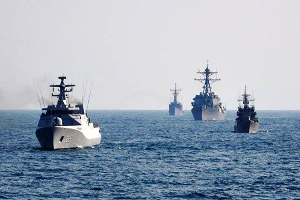 Siap Perang dengan China, TNI Kirim Tujuh KRI ke Natuna