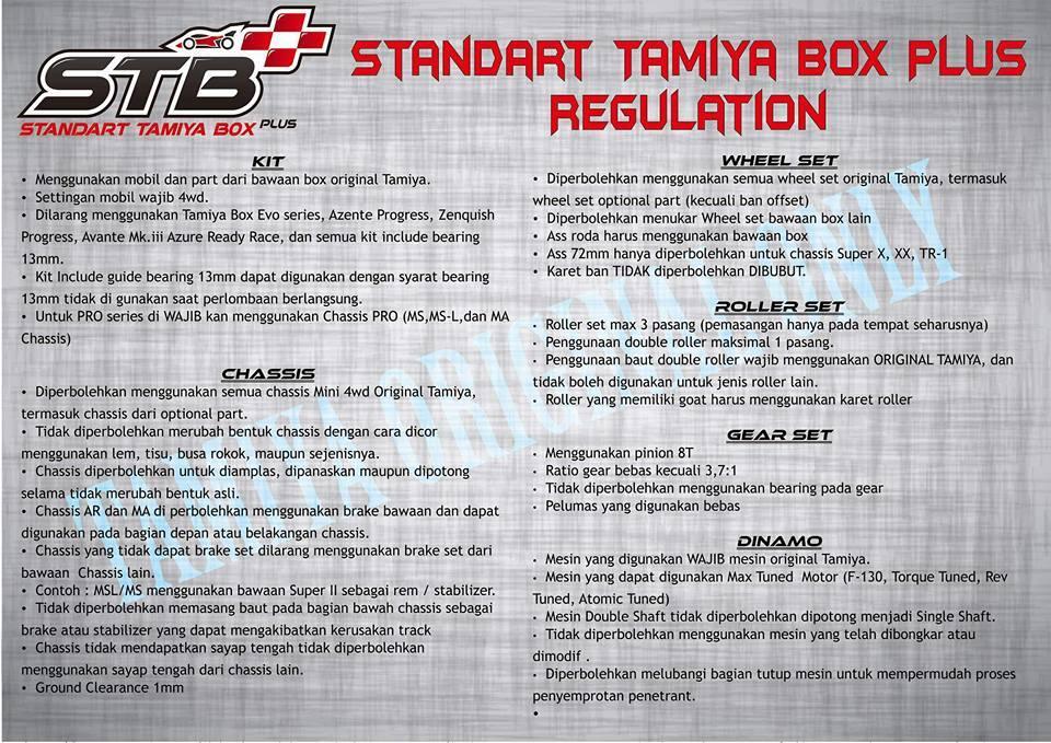 ### komunitas pemain tamiya Kelas STANDAR TAMIYA BOX alias STB...###