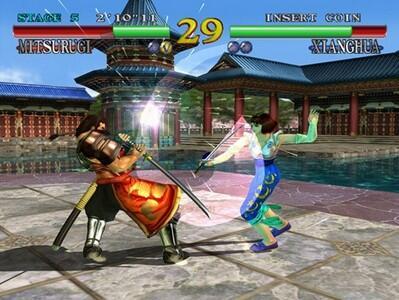 Game fighting 3D arcade tahun 90-an yg keren!! (gamer 90an masuk dong..)