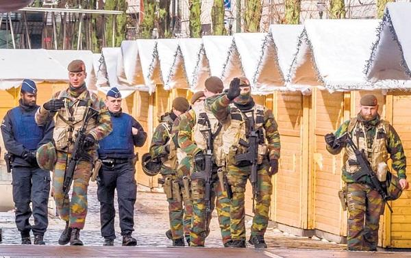 Pelaku Teror Paris Bersembunyi di Belgia