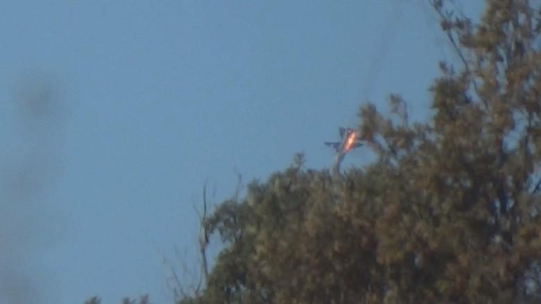 JOSS, Jet Tempur F16 Turki Tembak Jatuh Pesawat Rusia Dekat Perbatasan Suriah