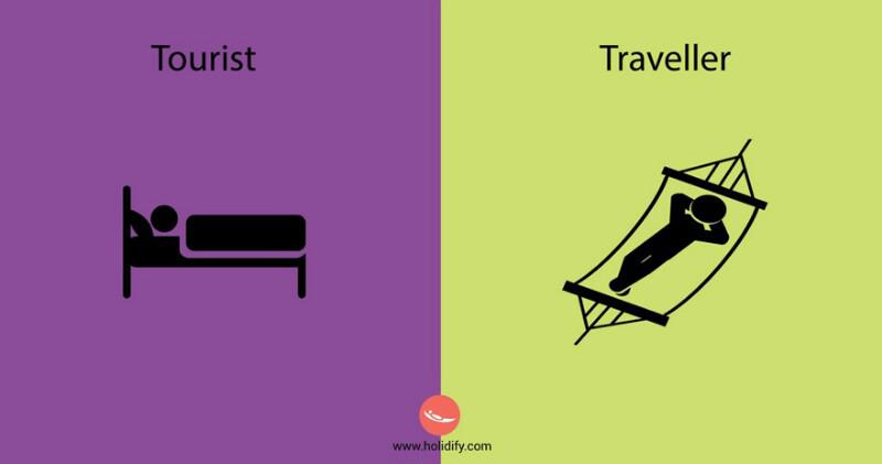 Perbedaan Turis dan Traveller Dapat Dilihat dari Sikap Mereka Terhadap Alam