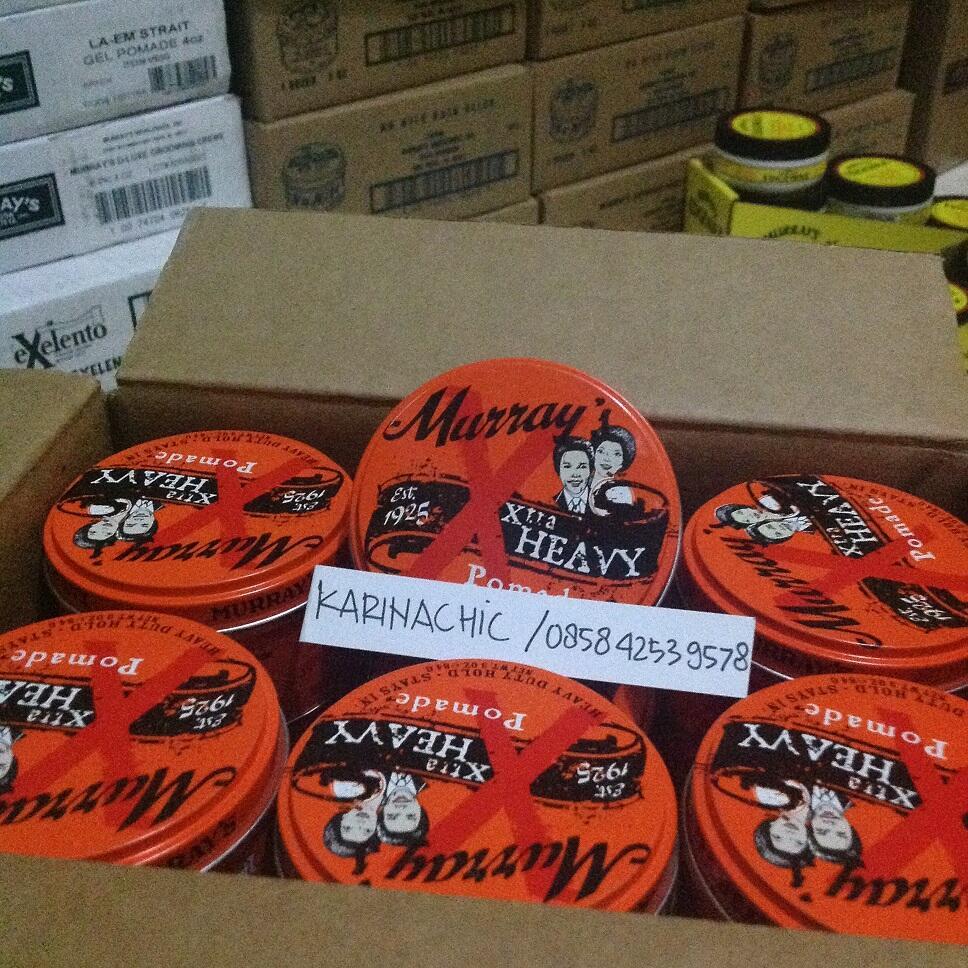 Terjual Pomade Murrays Usa 55rb Pcs Termurah Beli Satuan Harga Edgewax Water Based Original  Grosir Sekaskus