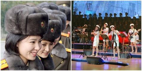 [VIDEO + FOTO] Tanpa Oplas, Cantiknya Girl Band Korut Bentukan Kim Jong-un