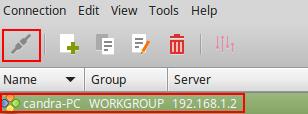 Remote Desktop Pake Remmina dari Linux Mint 17 ke Win8 Lewat LAN