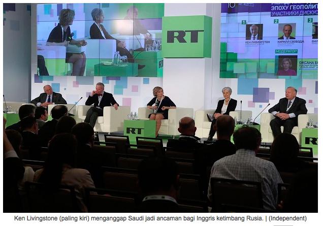 Saudi Dianggap Jadi Momok bagi Inggris Ketimbang Rusia