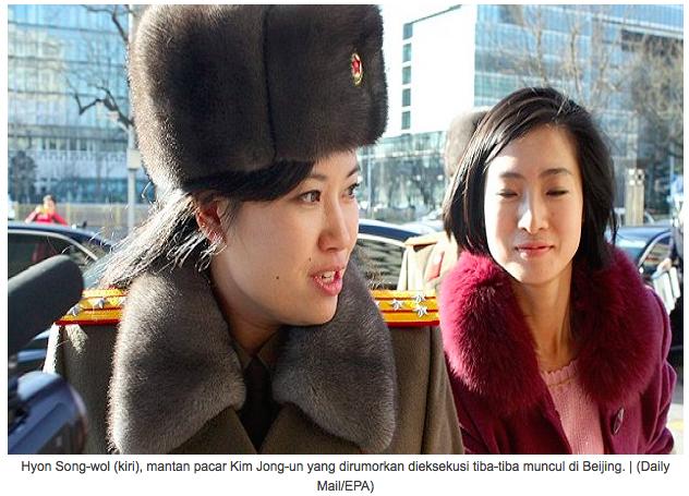Rumor Dieksekusi, Eks Pacar Kim Jong-un Tur Diplomasi di China