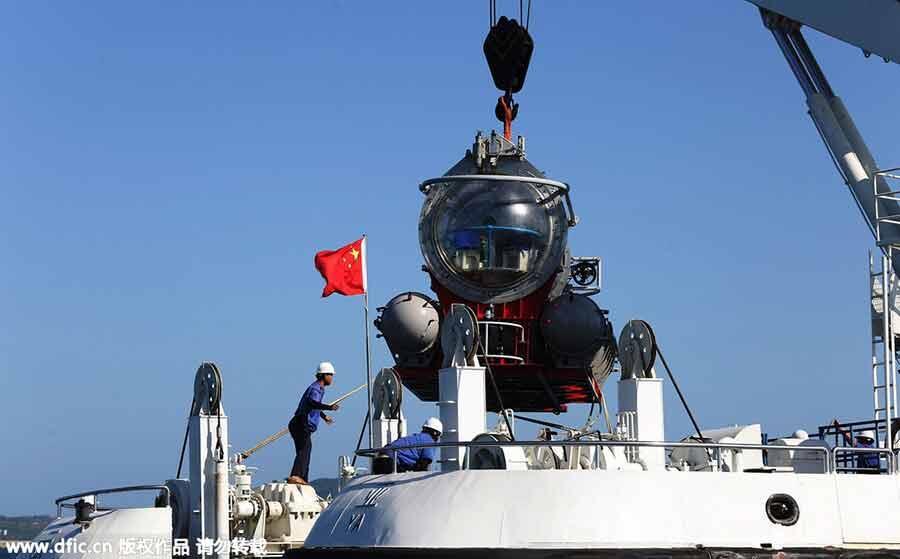 [Berita Foto] World's largest tourism sub begins trial run in Hainan