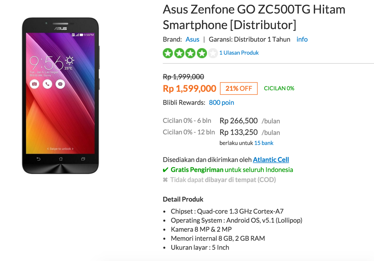 Daftar Harga Asus Zenfone Go 8gb 1gb Ram 8mp Camera Zb450kl White Samsung Galaxy J7 Prime 55ampquot Lte Dual Sim Smart Phone 32gb Grey Zc500tg Kaskus