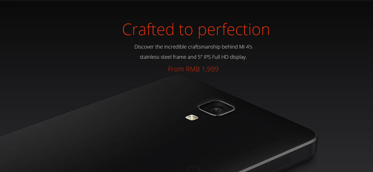 [OFFICIAL LOUNGE] Xiaomi MI4 | Crafted to Perfection