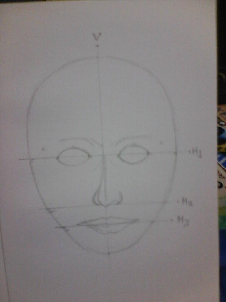 Mau Berbagi Ilmu Teknik Menggambar Sketsa Wajah Nih Gan Kaskus