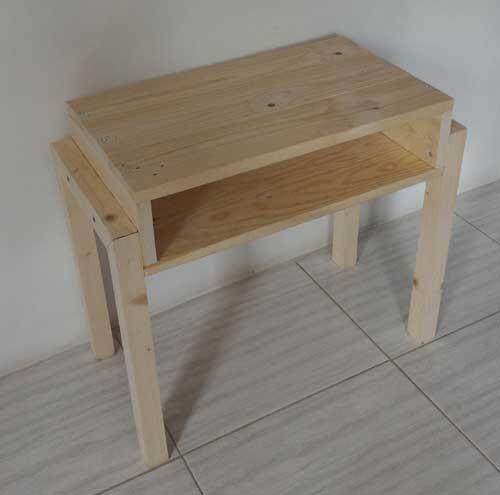 Cara Membuat Meja Kecil Dari Kayu Jati Belanda
