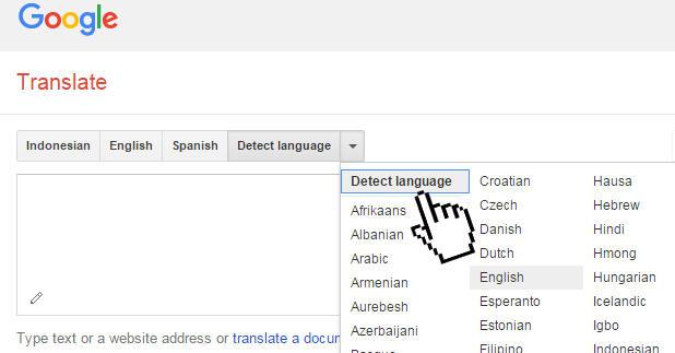 google translate inggris ke indonesia per kalimat