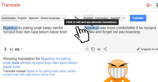 google translate inggris to indo