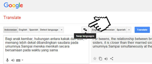 Tips Maksimalkan Hasil Terjemahan Google Translate Gan Kaskus