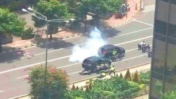 [BREAKING NEWS] Terjadi Ledakan Bom di Thamrin!