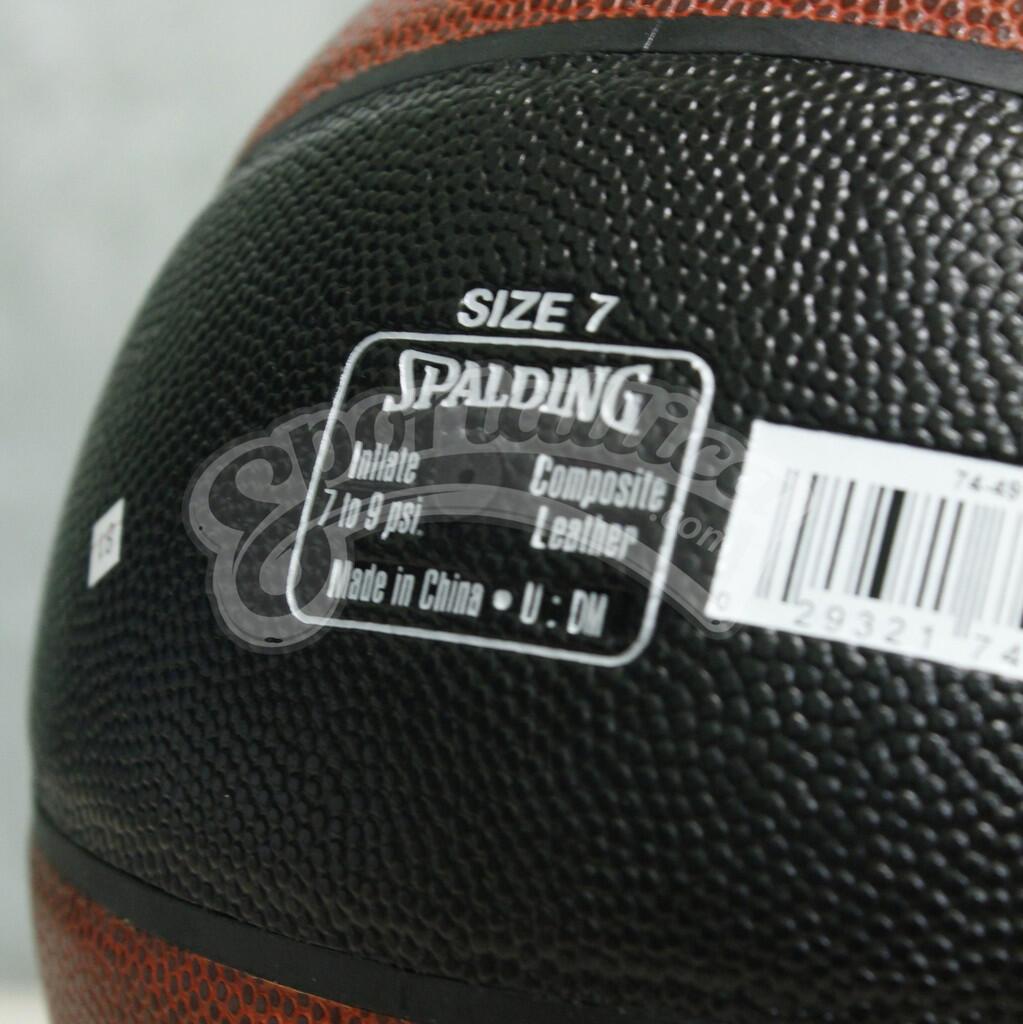 Terjual Jual Bola Basket Basketball Spalding Original Nba Gold Size 7 Slam Dunk