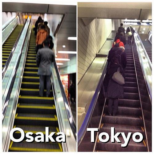 INI DIA 3 PERBEDAAN MENGEJUTKAN ANTARA OSAKA & TOKYO