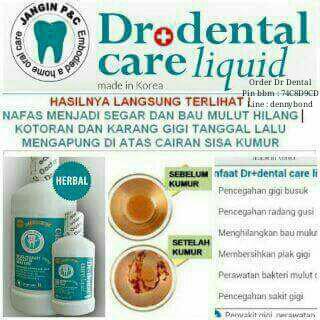 Untung berlimpah dengan Dr Dental Liquid Care. Extra Income s/d 4 jt perbulan.