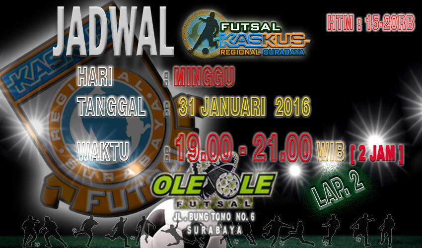 [Fulbar] Futsal Bareng Reg. Surabaya ~ Prime ID - Part 2