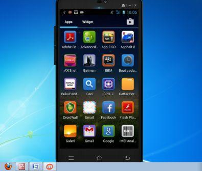 (Share) Cara Menampilkan Layar Smartphone Android ke layar Laptop atau PC