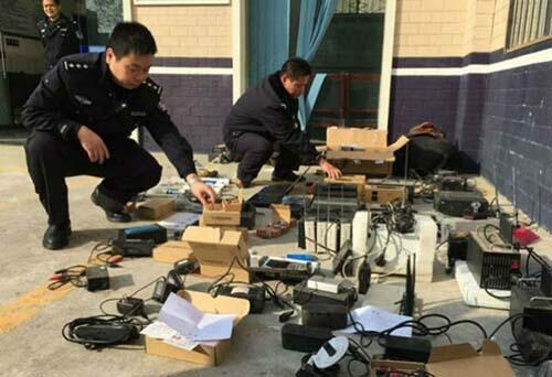 Foto Miris Aksi Curang Pelajar di Tiongkok Saat Ujian Kelulusan